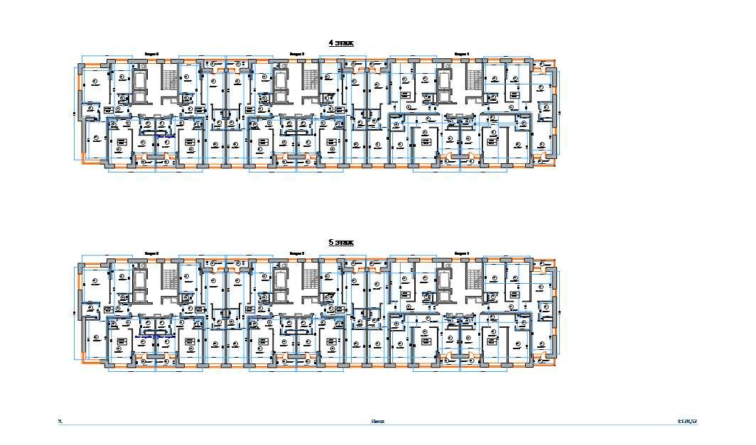 Обмер жилого здания