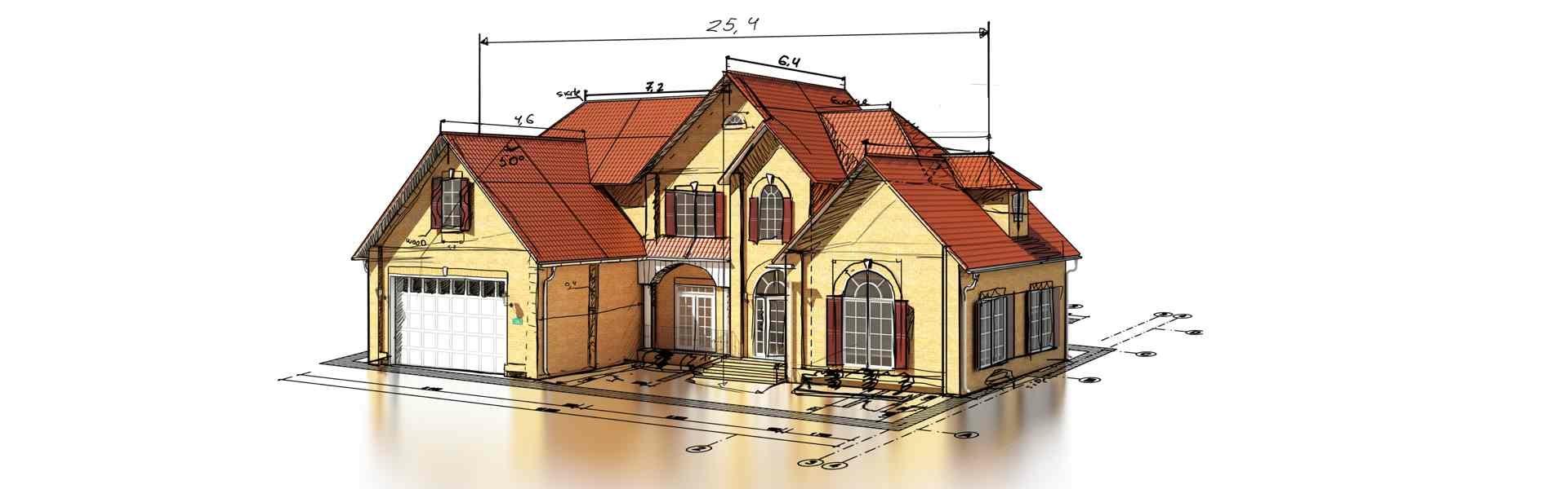 Обмер фасадов